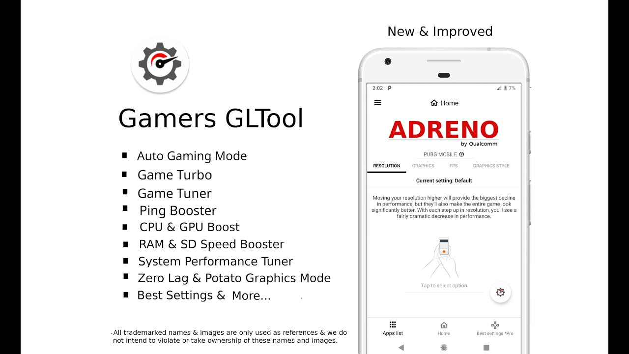 Gamers GLTool: Most advanced GFX optimizer tool on Google Play