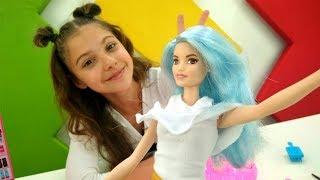 Игры одевалки - Создаем Инстаграм для Барби - Видео для девочек
