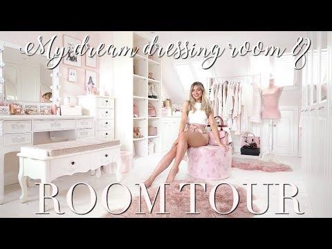 ROOM TOUR ~ My DREAM Dressing Room & Bedroom! ~ Freddy My Love