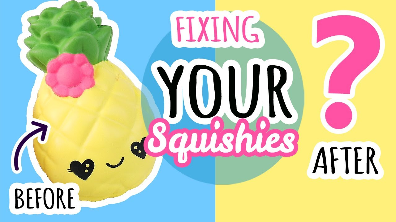 Squishy Makeovers: Fixing Your Squishies #24