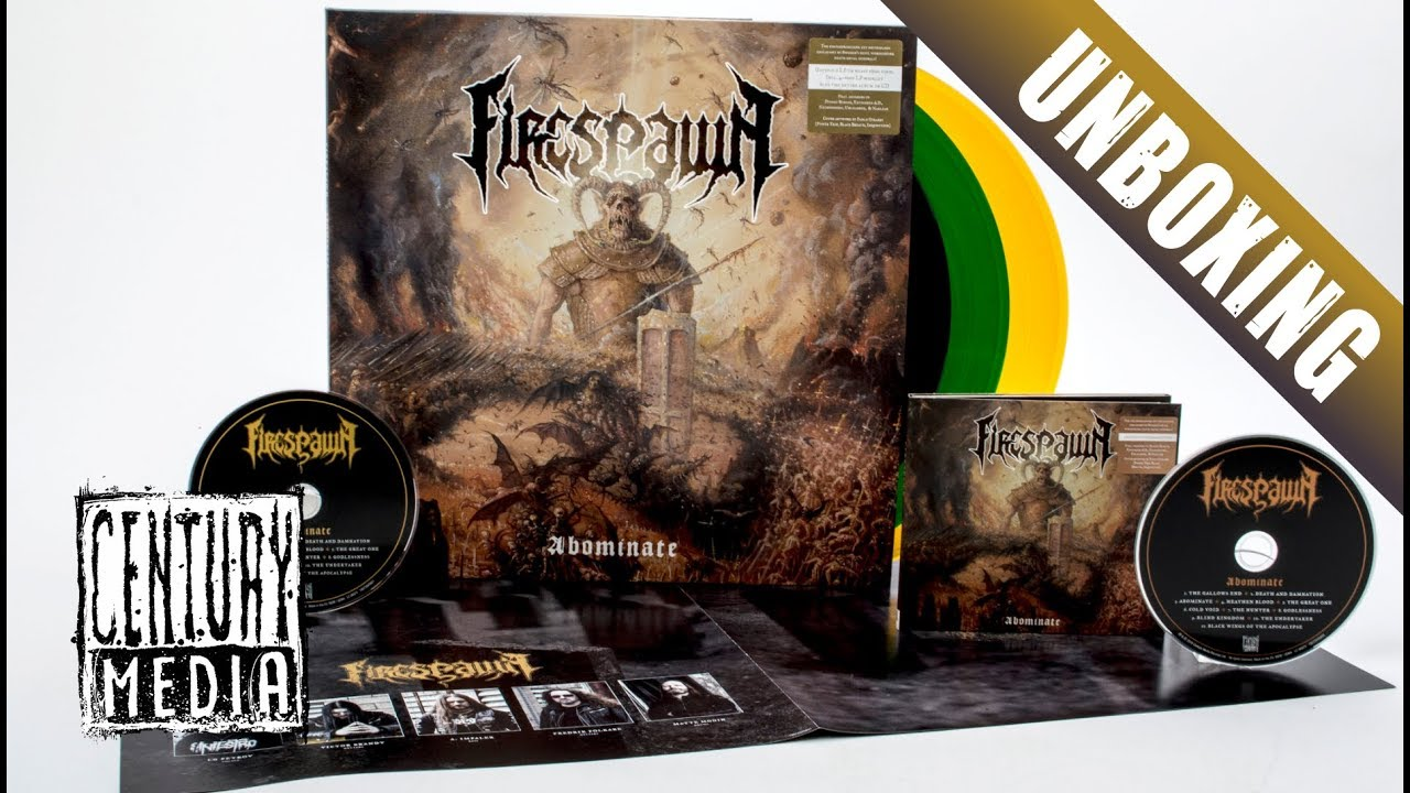 FIRESPAWN — Abominate (Unboxing)