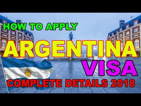 How To Apply Argentina Visit Visa [Business Visa][Citizenship] Urdu/Hindi 2018 Premier Visa