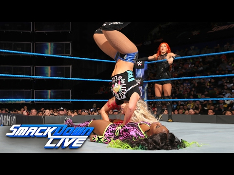 Becky Lynch & Naomi vs. Alexa Bliss & Mickie James: SmackDown LIVE, Jan. 31, 2017