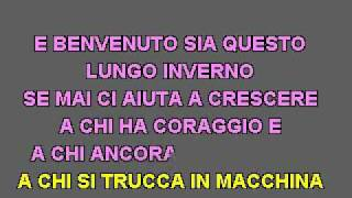 karaoke - Laura Pausini - Benvenuto(cori).flv