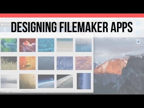 Designing FileMaker Apps - UI Design| User Group | FileMaker Pro 15 Videos | FileMaker 15 Training