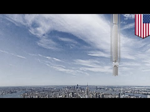 Amazing architecture: world's first upside down skyscraper would hang from asteroid - TomoNews