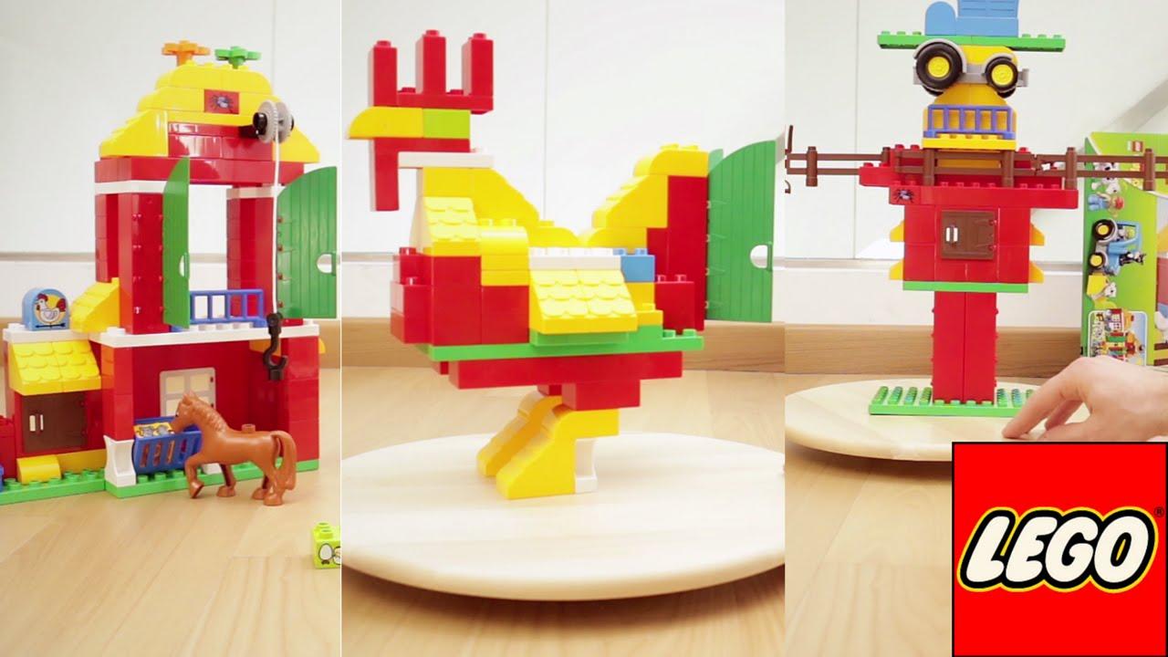 Come dalla fattoria lego duplo faccio gallo e - Cosa costa costruire una casa ...