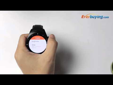 K8 Round Dial 3G Smartwatch Phone