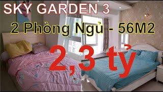 Bán Căn Hộ Chung cư Sky Garden 3 Quận 7 - 2 phòng ngủ, 56m,2 - Năm 2020.