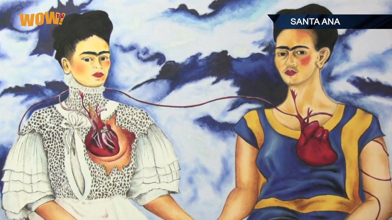 Exposici n de pinturas de frida kahlo 2017 youtube for Cuartos decorados de frida kahlo