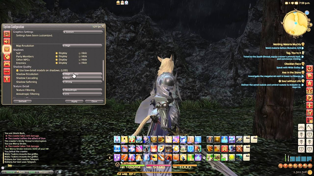 Final Fantasy XIV FPS Fix How To Get Solid 60 FPS