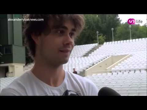 Alexander Rybak - exclusive Interview by Life.hu, Budapest, Hungary