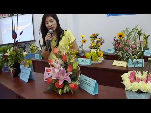 Hội thi cắm hoa 2011 ( 1 )