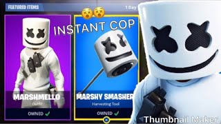NEW MARSHMALLOW FORTNITE SKIN// COP OR DROP