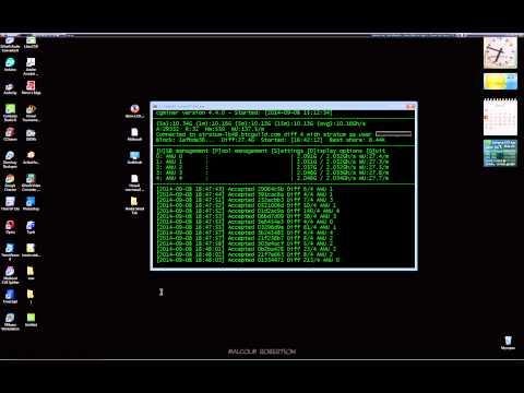 BITMAIN 5x ANTMINER U2 USB + CGMINER 4.4.0 Bitcoin MINING