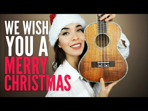 The BEST We Wish You A Merry Christmas Tutorial for Ukulele (Chords & PDF)