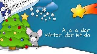 A, a, a, der Winter, der ist da (Minis erste Weihnacht)