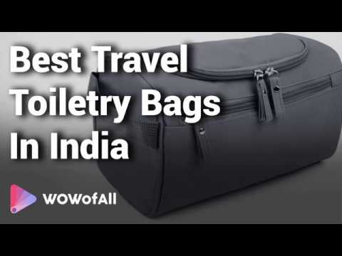 e4ed382e48 9 Best   Useful Travel Toiletry Bags in India with Price 2019 - YouTube
