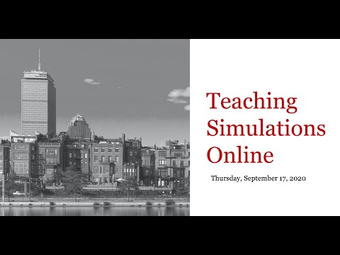 Tips for Teaching Simulations Online: Q&A with David Seibel