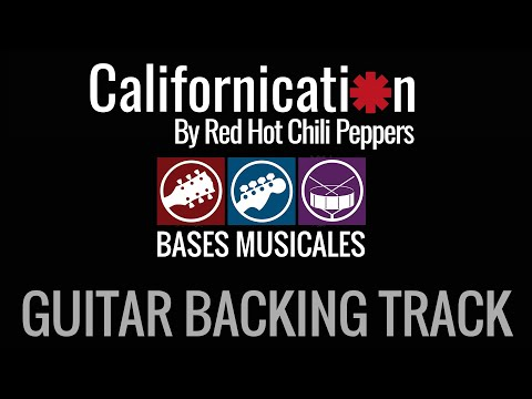 Californication guitar backing track