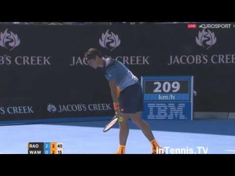 Stanislas Wawrinka vs Milos Raonic Highlights ᴴᴰ 2016