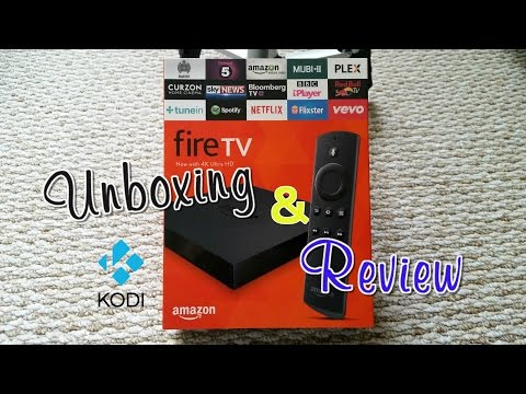 Review & unboxing the new 4K Amazon FireTV with install Kodi