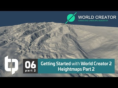 06.2 | Getting Started with World Creator 2 | Heightmaps Pt. 2