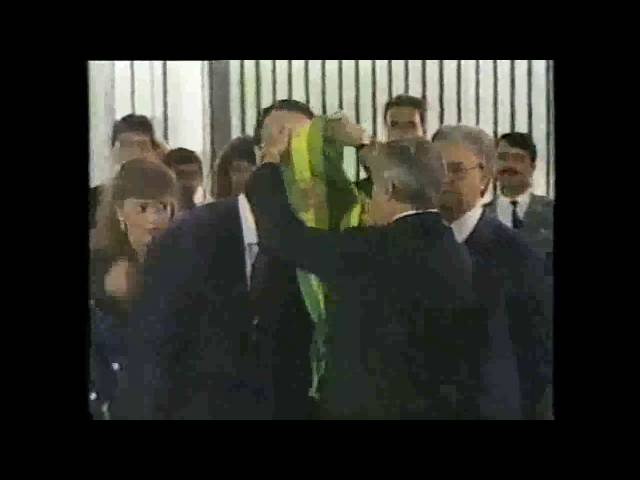 Jornal da Manchete 15/03/1990 Escalada e trechos