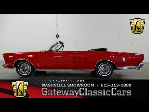 1966 Ford Galaxie 500 Conv - Gateway Classic Cars of Nashville #62