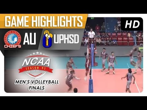 NCAA 93 MV FINALS: AU vs. UPHSD | Game Highlights | February 22, 2018