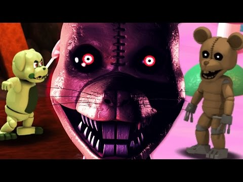 SECRET RAT FIGHT || Five Nights at Candy's World (Five Nights at Freddys)