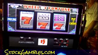 High Limit Slot Machine Room Barona Casino Losing $200 Gambling Money