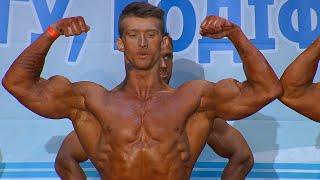 Бодибилдинг. Юниоры свыше 80 кг. Полуфинал. Открытый кубок Киева по бодибилдингу и фитнесу 2015