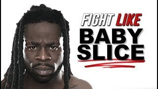 Baby Slice's Signature MMA Moves Inspired by His Father Kimbo