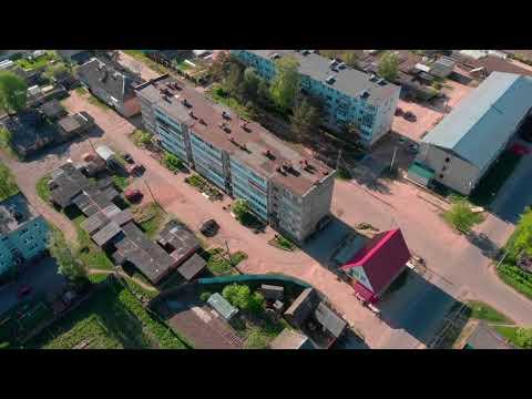 Город Демидов с высоты птичьего полёта