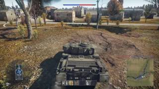 War Thunder Fv4202 PS4 gameplay