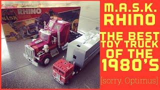 M.A.S.K. Toys - The Rhino - Best Toy Truck of The 1980's. Sorry, Optimus