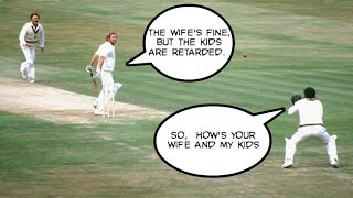 Sledging in Cricket - famous incidents caught on stump mic