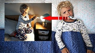 Tydus FAKED being sick to SKIP SCHOOL! *Caught on Camera*