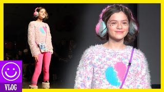 EMMA ON THE RUNWAY!  | Petite Parade Fall 2015  |  KITTIESMAMA