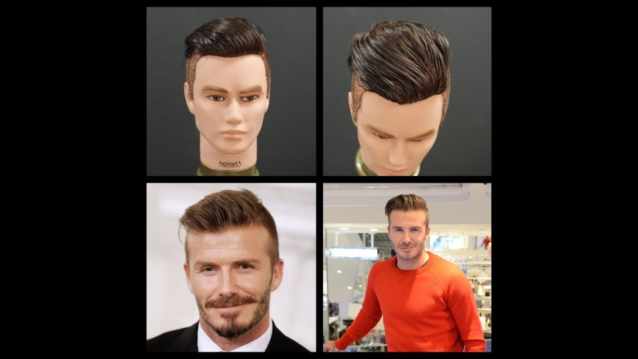 david beckham new 2014 haircut tutorial thesalonguy