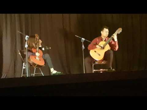 Annisa 'The Dreaming' on Students Of Classical Guitar Concert