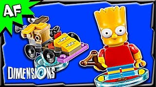 Lego Dimensions BART SIMPSON Fun Pack 3-in-1 Build Review 71211
