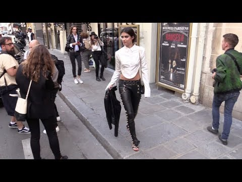 EXCLUSIVE - Sara Sampaio, Lily Donaldson, Stella Maxwell and more models in Paris