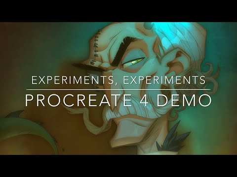 Experiments, Experiments - Procreate 4 Demo + Circle Trick