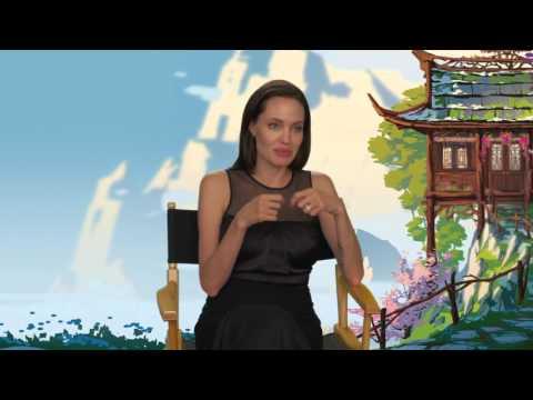 "Kung Fu Panda 3: Angelina Jolie ""Tigress"" Behind the Scenes Movie Interview"