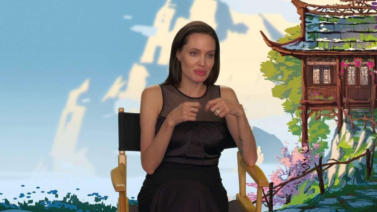 Kung Fu Panda 3 Angelina Jolie Tigress Behind The Scenes Movie