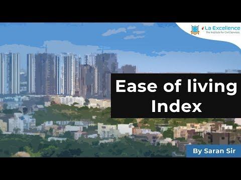 Ease of living Index | UPSC civils | - CivilsPrep