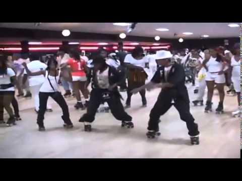 Skate Roller Disco Artists Dancing in Atlanta - rehab with superb funky hit