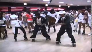 Skate Roller Disco Artists Dancing in Atlanta - rehab with superb funky hit